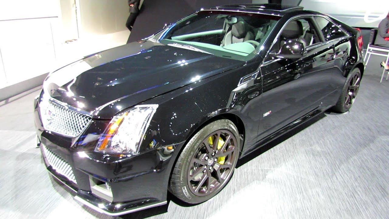 2014 Cadillac Cts V Coupe Exterior And Interior Walkaround 2013