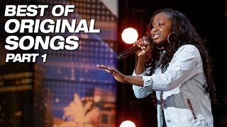 Best Original Songs From Season 13 Part 1 - America's Got Talent 2018