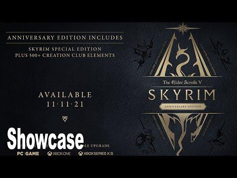 The Elder Scrolls V Skyrim Anniversary Edition - Reveal Showcase [HD 1080P]