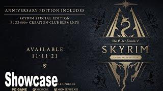 The Elder Scrolls V Skỳrim Anniversary Edition - Reveal Showcase [HD 1080P]