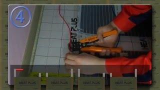Heat Plus плёнка  монтаж Хит Плюс пленочный  тёплый пол Корея видео инструкция по установке(Экономить на отоплении это реальность революционная система обогрева плёнка Хит Плюс Корея Heat Plus это..., 2015-01-19T09:26:50.000Z)