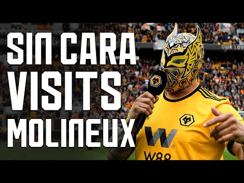 SI SENOR! WWE SUPERSTAR SIN CARA WATCHES RAUL JIMENEZ AS WOLVES BEAT FULHAM!