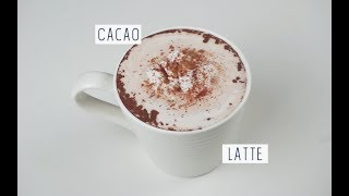 CACAO LATTE | Vegan Recipe