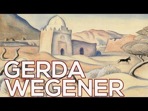 Gerda Wegener: A collection of 93 works (HD)