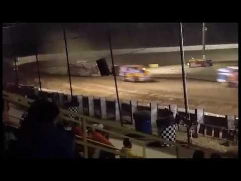 Ransomville Speedway Novice Sportsman Feature 7-29-16