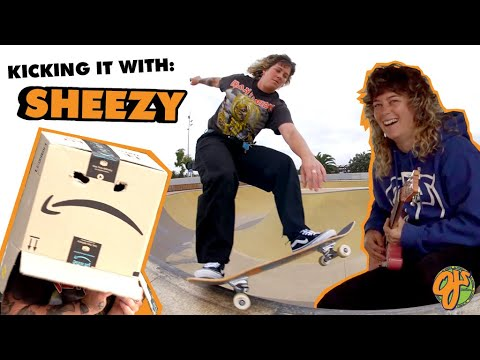 Mullets, Park Rips, and Guitar Riffs | Kicking it With: Sheezy | OJ Wheels