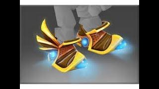 Dota 2 Tinker immortal boots with kinetic gem: Inscribed Mecha Boots of Travel Mk III