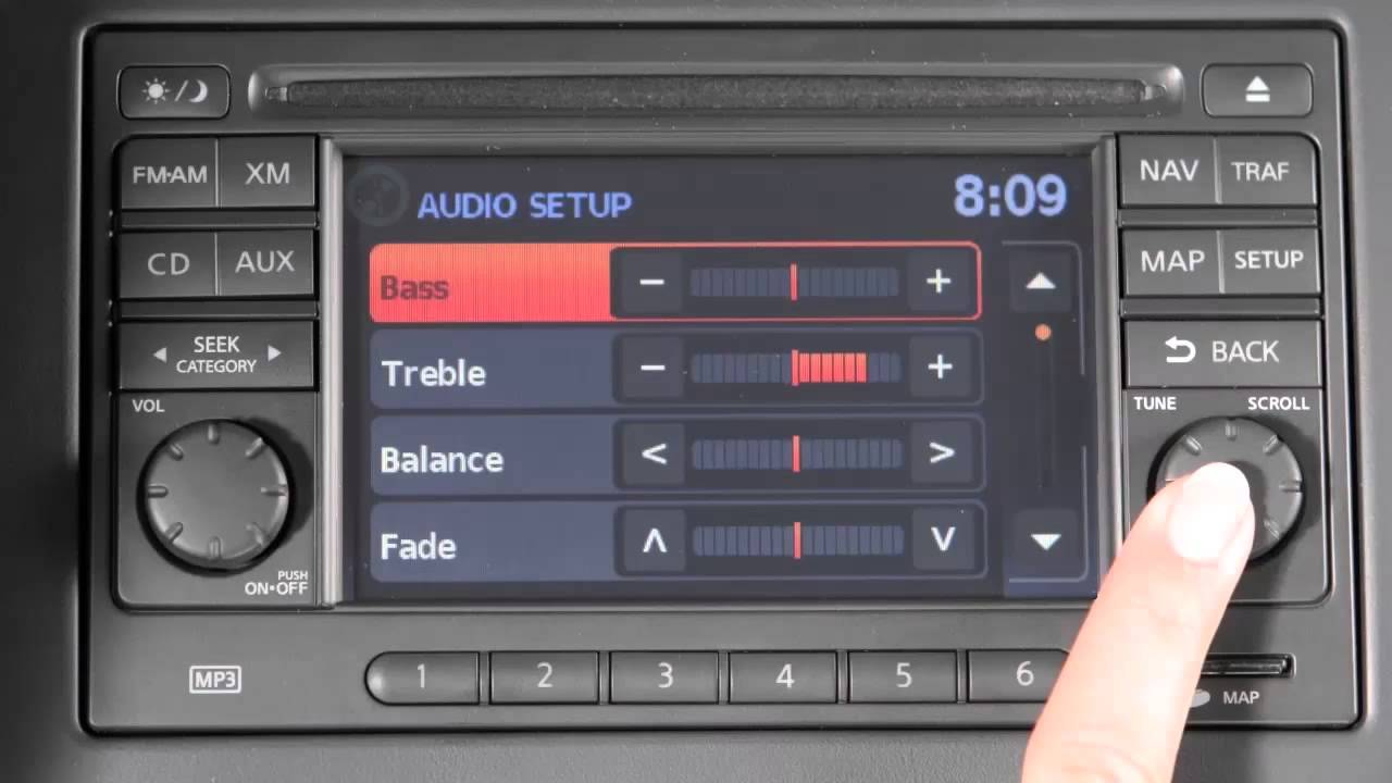2014 Nissan Juke Audio System With Navigation Youtube