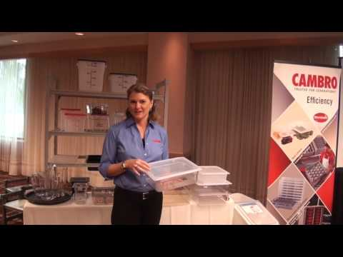 Cambro Seal Covers For Polycarbonate Food Pans | Camwear Lids