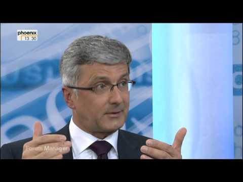 Rupert Stadler beim Forum Manager am  21.04.2013