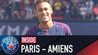 INSIDE - PARIS SAINT-GERMAIN VS AMIENS with Neymar Jr, Marquinhos