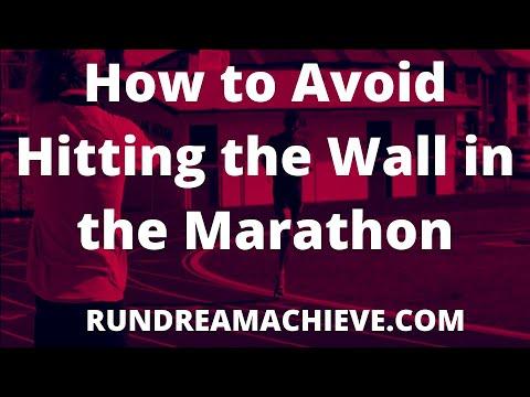 How to Avoid Hitting the Wall Marathon Mastery Advice