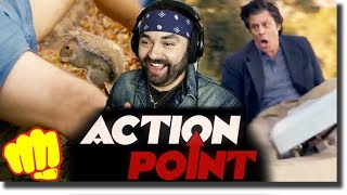 ACTION POINT Trailer REACTION!! (Johnny Knoxville Movie)
