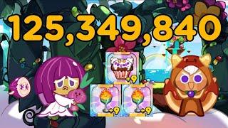 쿠키런 for kakao 디저트 파라다이스 1.25억점…