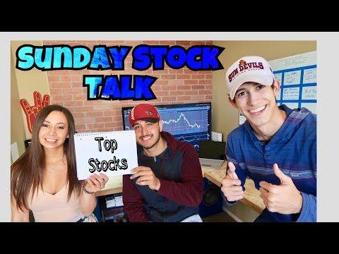 My Top Stocks For Week 4 January 2018 | Sunday Stock Talk