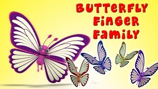 Família Dedo Borboleta   Rimas De Berçário   Kids Song   Butterfly Finger Family   Farmees Português