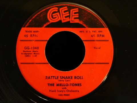 Mello-Tones - Rattle Snake Roll - Raw Detroit R&B Rocker