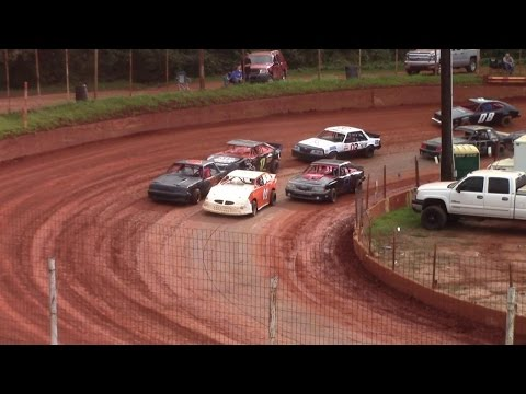Winder Barrow Speedway Stock Fours Feature Race 10/11/15