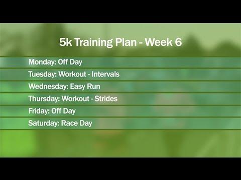 5k Training Plan for Beginners Part 3