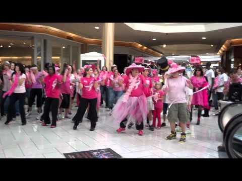 Pink Flash Mob at Hanes Mall