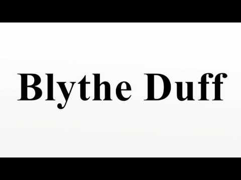 Blythe Duff