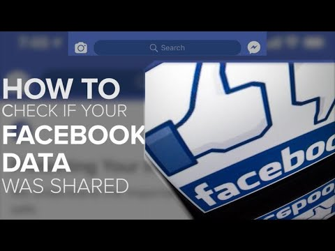 Was your Facebook data shared? Here's how to check