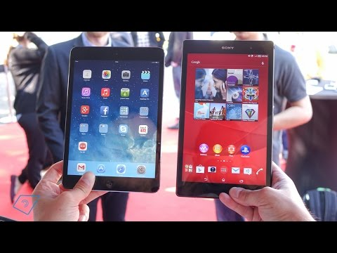 Sony Xperia Z3 Tablet Compact vs. iPad mini Retina (Deutsch)