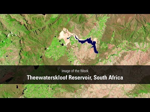 Image of the Week - Theewaterskloof Reservoir, South Africa