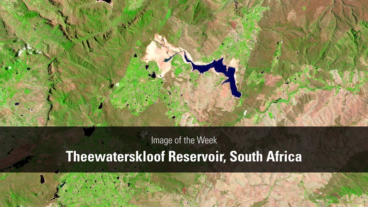 Theewaterskloof Reservoir, South Africa