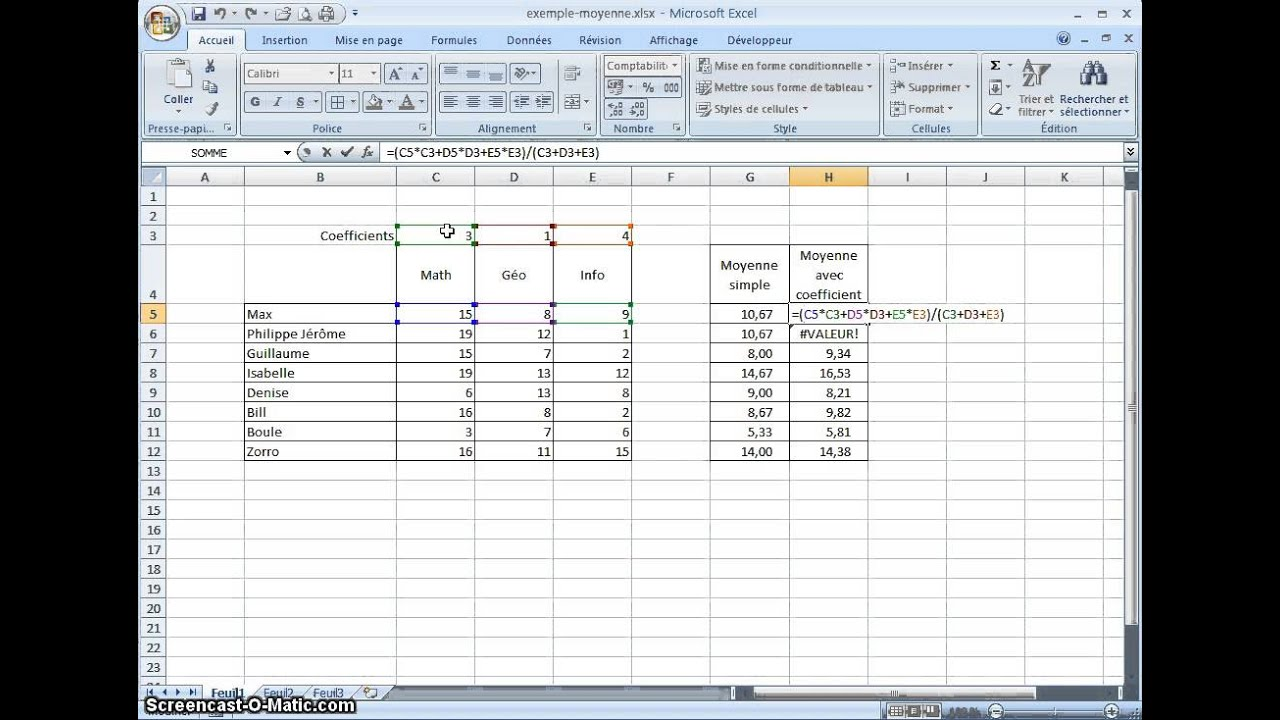 how to find coefficient of determination on excel