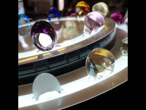 Lalique Cabochon Rings