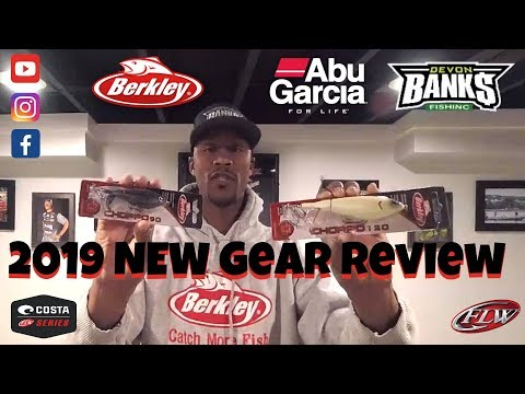 TTD: 32 | WE READY | 2019 New Gear Review With Abu Garcia And Berkley
