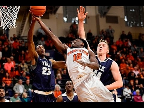 #NCAAB | 2017 Ivy League Championship Final #3 Yale vs #1 Princeton [3/11/2017]
