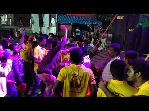 Guntur Brundhavan garends ganesh celebrations. Paritala ravi song..