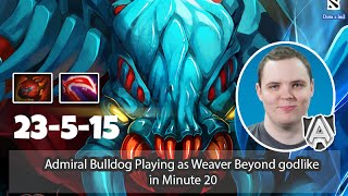 Well Played Episode 6 - Admiral Bulldog Playing As Weaver Ranked Match Beyond Godlike Minute 20