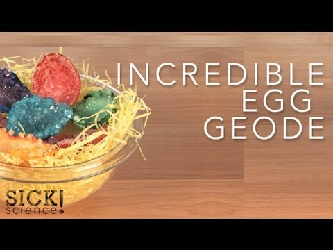 Incredible Egg Geode - Sick Science! #082
