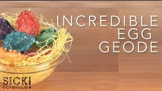 Incredible Egg Geode - Sick Science! #082 thumbnail