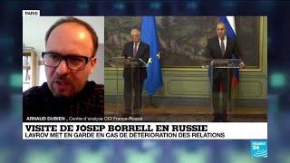 Affaire Navalny: l'UE juge les relations avec Moscou