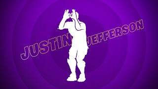 Justin Jefferson Dances Into the Fortnite Icon Series With The Get Griddy Emote