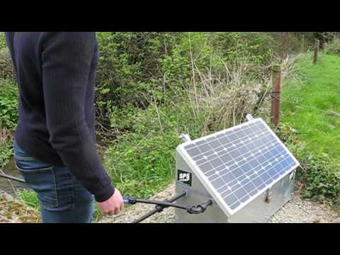 Pumping water with solar energy