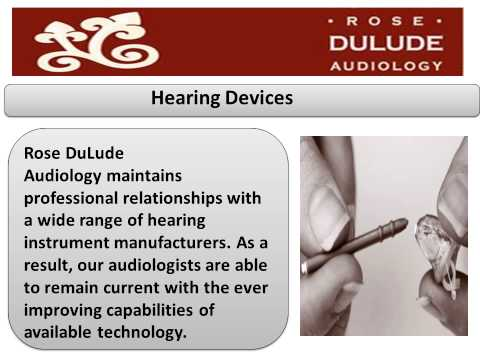 Rose DuLude Audiology  New York