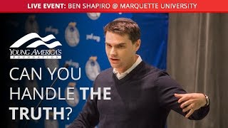 Ben Shapiro LIVE at Marquette University