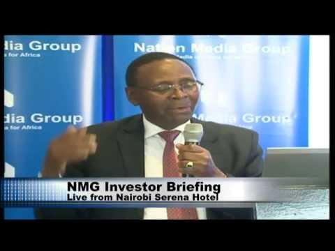 Nation Media Group investor briefing - Full Video
