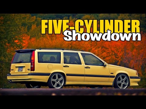 15 Best Sounding 5-Cylinder Engines