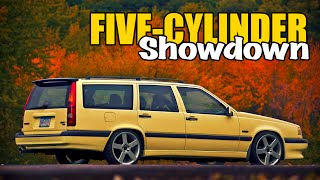 15 best sounding 5 cylinder engines