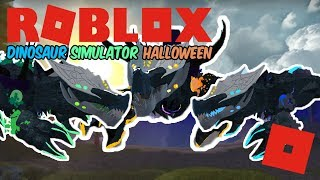 Roblox Dinosaur Simulator Halloween - Star Destroyer Growth Stages! + Animations and More!