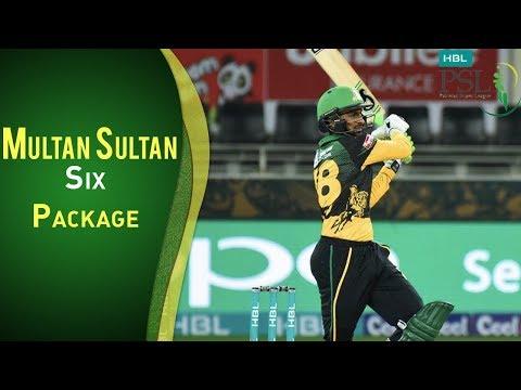 Multan Sultan Vs Peshawar Zalmi | Match 1 | Multan Innings | Six Package | PSL 2018 | PSL