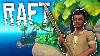 Raft #01 | Abenteuer Ozean - Der weiße Hai | Gameplay German Deutsch thumbnail