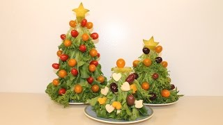 Easy Christmas Appetizers Tree DIY
