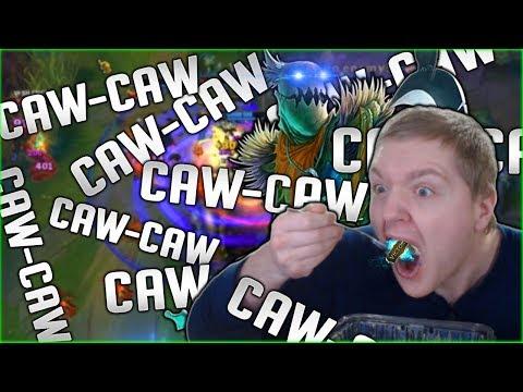 CAW-rean Middlesticks CAW-CAW CAW-CAW CAW-CAW - Season 8 Fiddlesticks Mid Gameplay League of Legends
